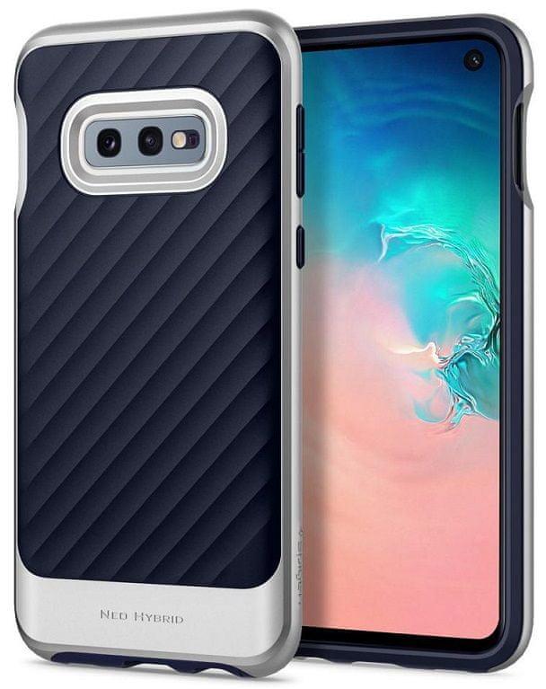 Spigen Ochranný kryt Neo Hybrid pro Samsung Galaxy S10e, stříbrný 609CS25848