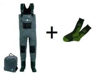 c8ae86c8457e3 Behr Neoprenové prsačky 5 mm 40-41 + ponožky COOL MAX zdarma - filcová  podrážka