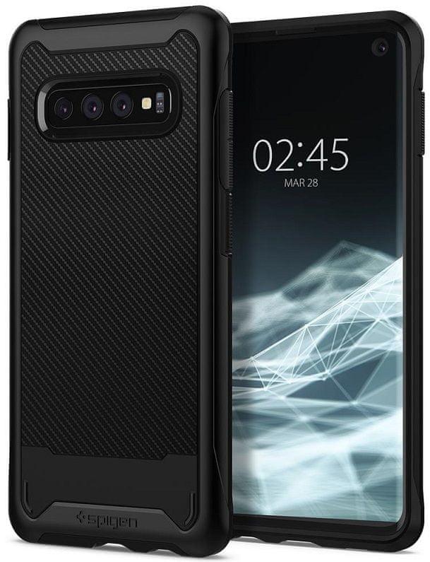 Spigen Ochranný kryt Hybrid NX pro Samsung Galaxy S10 Plus, černý 606CS25658