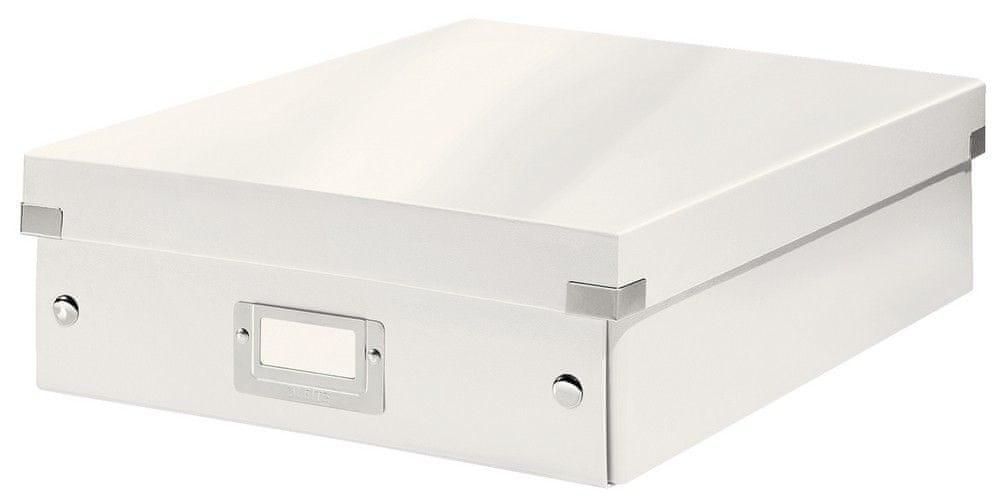 Krabice CLICK & STORE WOW střední organizační, bílá