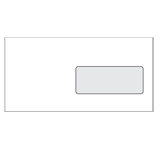 KRKONOŠSKÉ OBÁLKY Obálka DL samolepicí s okénkem, 1000 ks,110 x 220