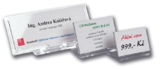 Univox Identifikátor stolný SRD 517 - 100 x 67 mm