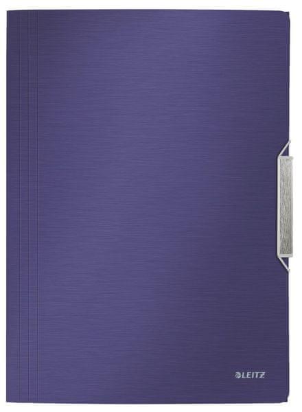 Leitz Desky na spisy Style titanově modré
