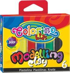 Colorino Plastelína 6 farieb