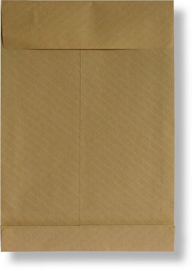 KRKONOŠSKÉ OBÁLKY Poštovní taška s křížovým dnem B4 neroztrhnutelná, samolepicí s KP, 250 x 353