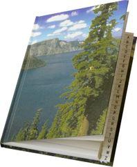 PAPÍRNY BRNO Záznamní kniha s registrem A4 linkovaná, 96 listů