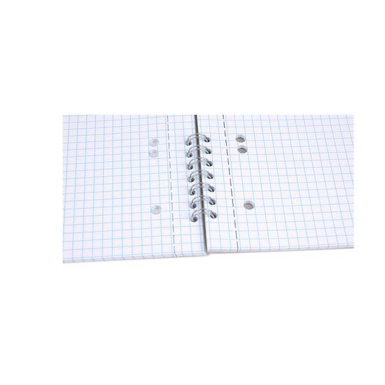 Bobo Blok s boční kroužkovou vazbou speciál A5 čtverečkovaný