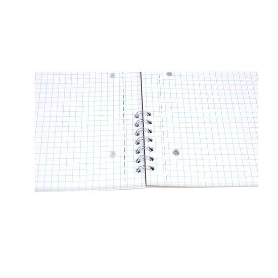 Bobo Blok s boční kroužkovou vazbou speciál A4 čtverečkovaný