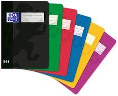 Oxford Sešit bezdřevý 545 - A5 čtverečkovaný, 40 listů, mix barev