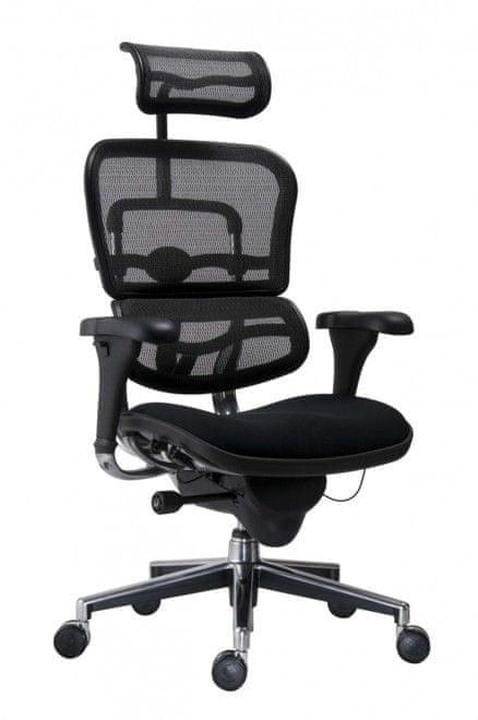 Antares Kancelářská židle Ergohuman černá