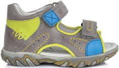 D-D-step sandale za dječake, 20, sivo žute