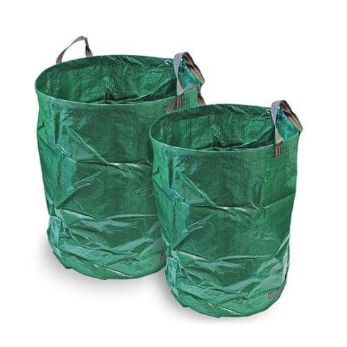 Happy Green Koš zahradní skládací 120 l, zelený