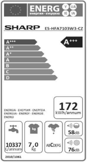 Sharp ES HFA7103W3