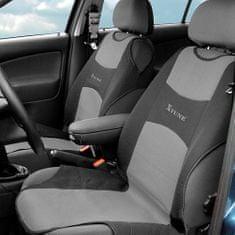 Compass Poťah sedadla TRIKO predný 2 ks tmavosivý