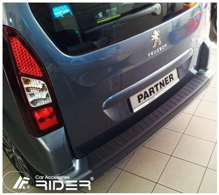 Rider Ochranná lišta hrany kufru Peugeot Partner 2008-2018