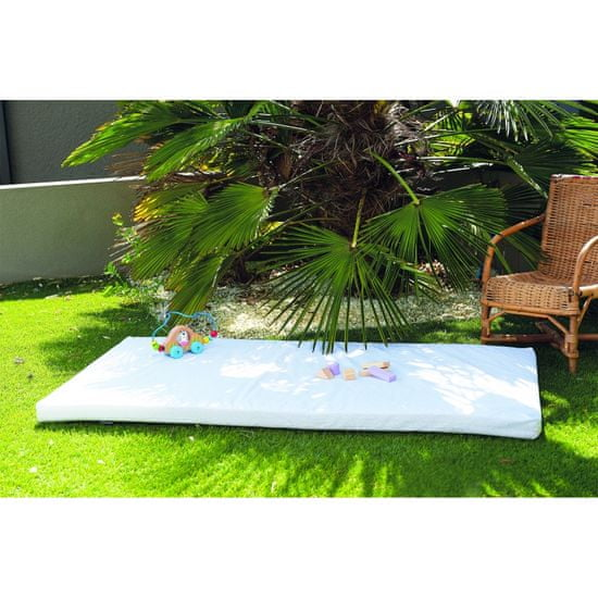 Candide Cestovný matrac plátno 60x120cm bodky