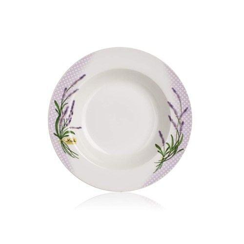 Banquet krožnik LAVENDER, globok, 21,6 cm