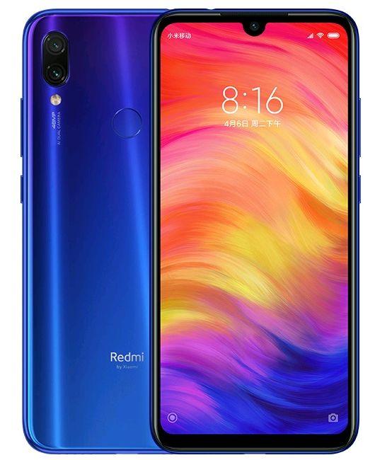 Xiaomi Redmi Note 7, 4 GB / 128 GB, Global Version, Neptune Blue
