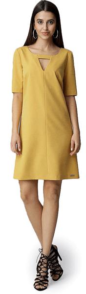 Figl dámské šaty M žlutá