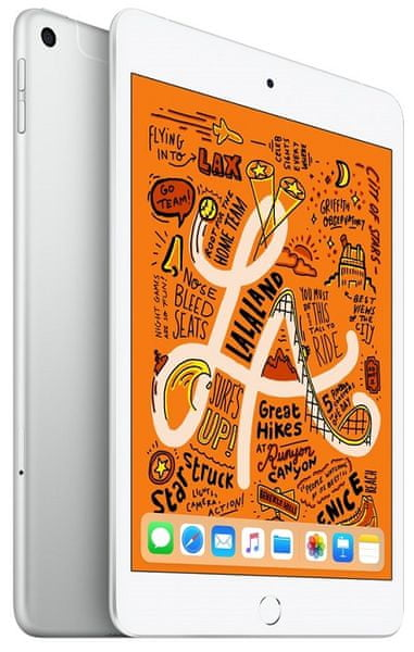 Apple iPad Mini Wi-Fi + Cellular, 256 GB, Silver