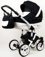 Sun Baby Kombinovaný kočík 3v1 Raf-pol 2020 Lilly carbon
