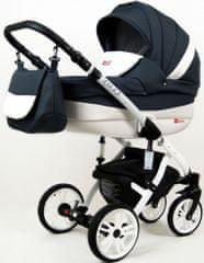 Sun Baby wózek 3w1 Raf-pol Lilly antracyt