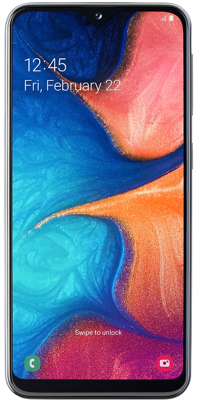 Samsung Galaxy A20e, 3GB/32GB, Black - použité
