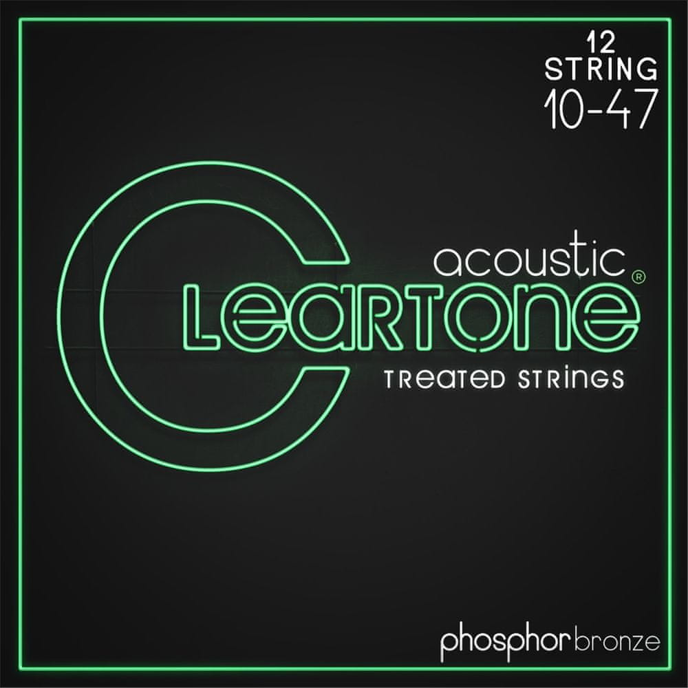 Cleartone Phosphor Bronze 12-String 10-47 Light Struny pro dvanáctistrunnou kytaru