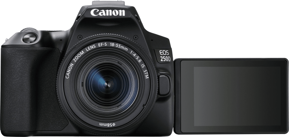 Canon EOS 250D + 18-55 EF-S DC III Value Up Kit (brašna CB-SB130 + karta 16GB) (3454C010)