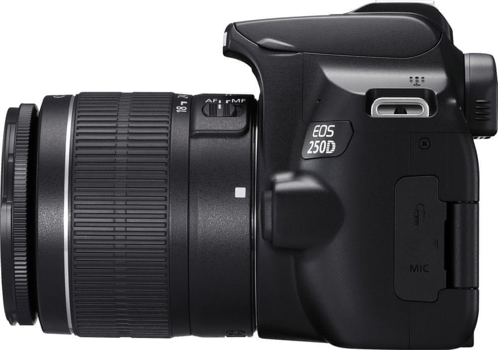 Canon EOS 250D + 18-55 EF-S IS STM + 50/1.8 EF STM (3454C013) + Cashback 1500 Kč!
