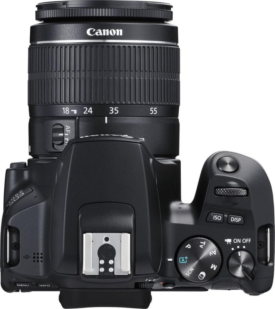 Canon EOS 250D + 18-55 EF-S DC III + 75-300 EF-S DC III (3454C016) + Cashback 1500 Kč!