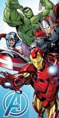 Jerry Fabrics Osuška Avengers svetlo modrá