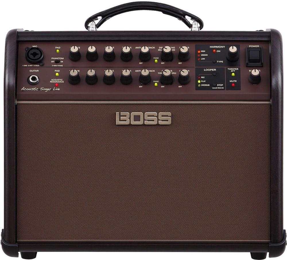 BOSS Acoustic Singer Live Kombo pro akustické nástroje