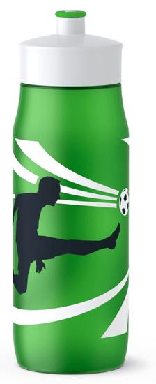 Tefal miękka butelka SQUEEZE 0,6 L zielona - piłka nożna K3201412