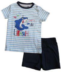 Carodel komplet majice i kratkih hlača za djecu , 68, plava