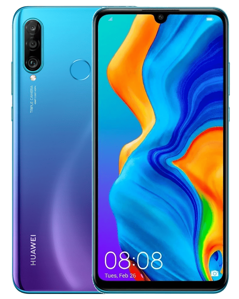 Huawei P30 lite, 4 GB/128 GB, Peacock Blue