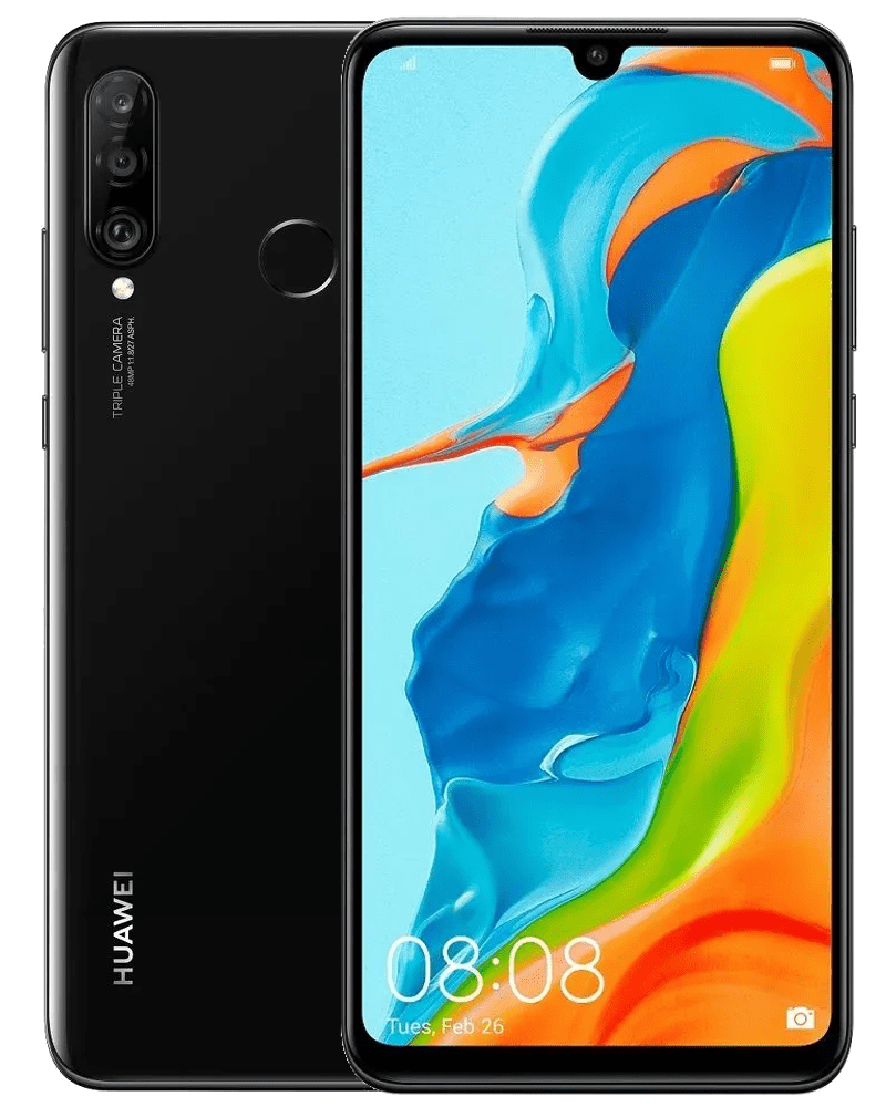 Huawei P30 lite, 4GB/64GB, Midnight Black