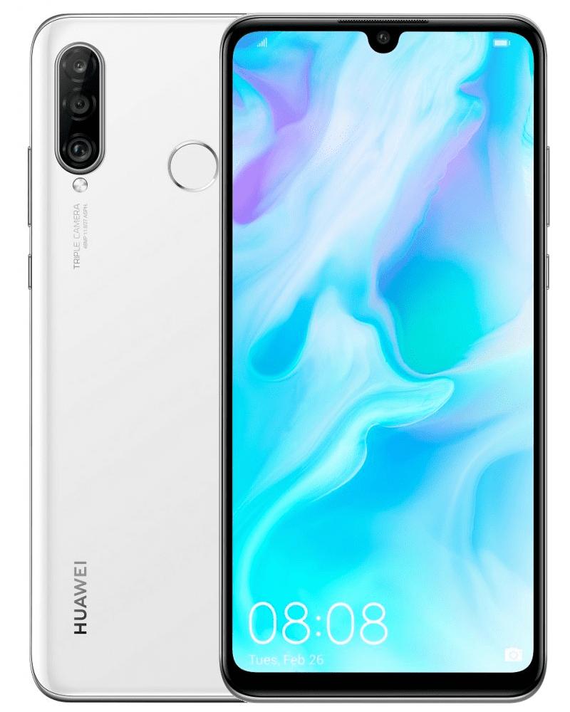 Huawei P30 lite, 4 GB/128 GB, Pearl White
