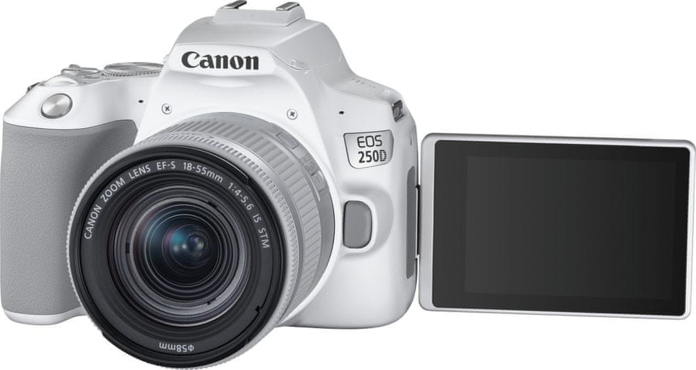 Canon EOS 250D + 18-55 EF-S IS STM White (3458C001)