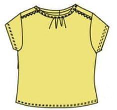 Carodel dívčí tričko 68 žlutá