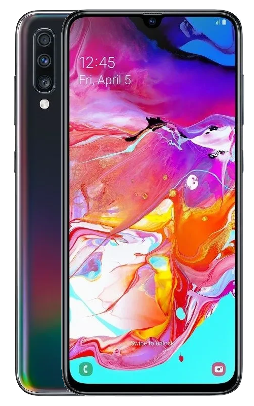 Samsung Galaxy A70, 6 GB/128 GB, Black