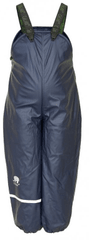 CeLaVi chlapecké zateplené kalhoty do deště 80 tmavě modrá