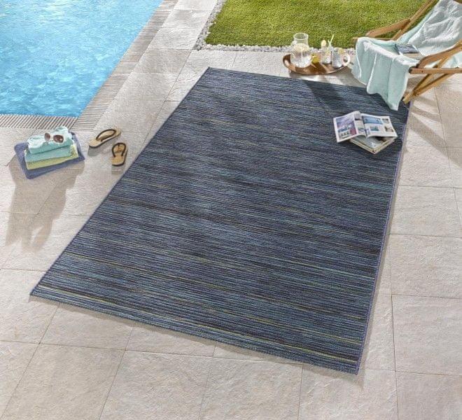 Bougari Venkovní kusový koberec Lotus Blau Meliert 120x170