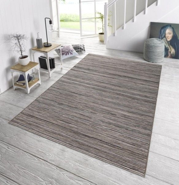 Bougari Venkovní kusový koberec Lotus Grau Meliert 102446 120x170