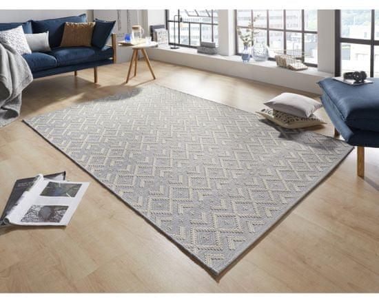 Zala Living AKCE: 76x200 cm Kusový koberec Harmony Grey Wool 103314
