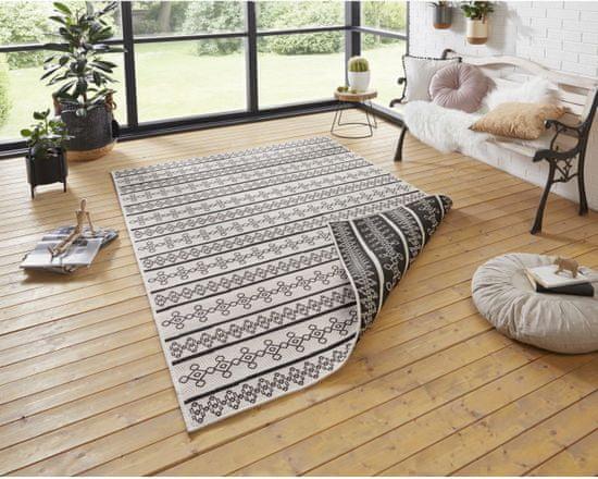 Bougari AKCE: 80x150 cm Kusový koberec Twin Supreme 103761 Black/Cream
