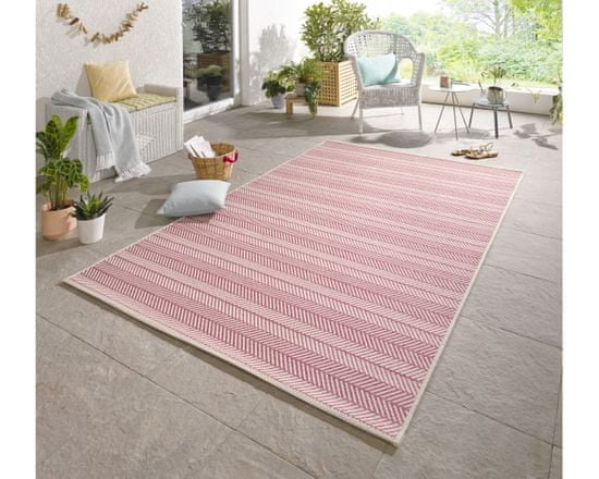 Bougari AKCE: 160x230 cm Kusový koberec Botany Pink 103308
