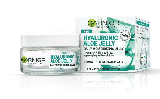 Garnier hidratantni gel za normalno kožo Skin Naturals Hyaluronic Aloe Jelly, 50 ml