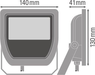 LEDVANCE reflektor LED Floodlight 20W/3000K 100DEG IP65, bijela