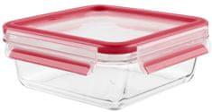 Tefal steklena posoda MASTER SEAL GLASS K3010712, kvadratna, 0,9 l